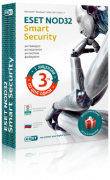 ESET NOD32 Smart Security + Vocabulary 1 год, 3 ПК <BOX>